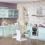 Кухня Альфа - цвет мята