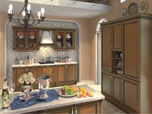 Кухня Амати шпон черешни.