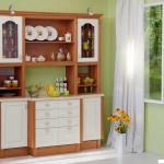 Кухня Винтаж - цвет ольха золочёная- ваниль