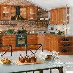 Кухня Натурель - цвет вишня - рисунок Арка