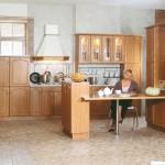 Кухня Натурель - цвет ольха - рисунок Арка