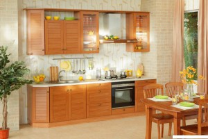 Кухня Ностальжи - цвет ольха