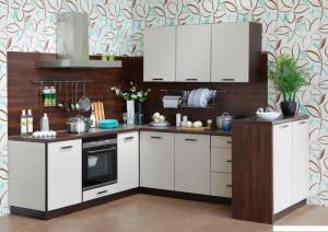 Кухня Рогожка - цвет эспри рогожка