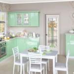 Кухня Фиеста - цвет салатовый