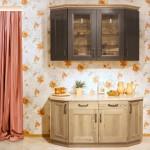 Кантри - цвет крашеный коричневый сосна натуральная