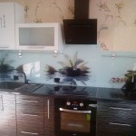 Проект 10.09.15 Кухня Дождь МДФ пластик, белый верх, черный низ (2)