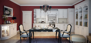 Кухня Глория-белый